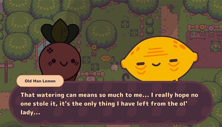 Turnip Boy Commits Tax Evasion | Credit: Snoozy Kazoo & Graffiti Games